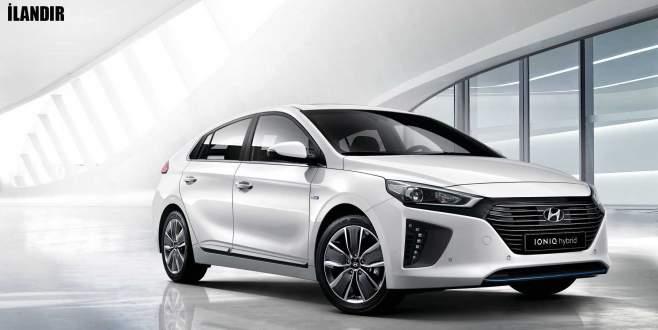 Doğuştan Hibrit Hyundai IONIQ Hybrid, İnallar'da!