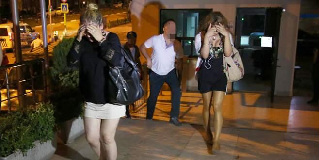 Fuhuş operasyonunda yakalanan 23 kadından 7'si hamile çıktı