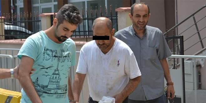 Bursa'da suç makinesi yakayı ele verdi
