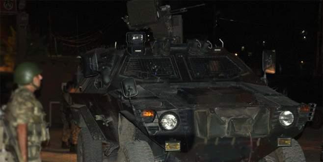 Jandarma karakoluna taciz ateşi
