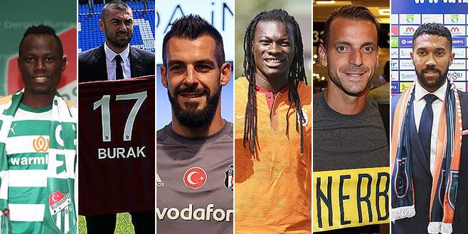 Süper Lig'e 'süper' yıldızlar