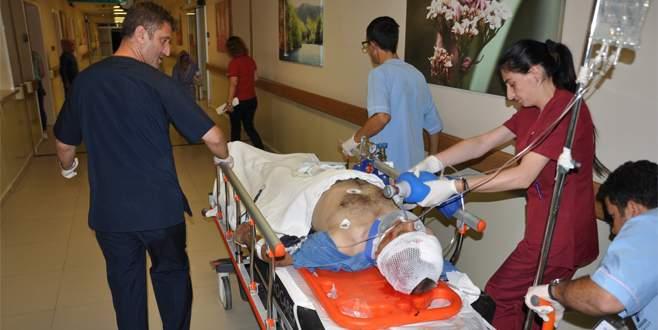 Bursa'da kaza: 1 ölü, 1 ağır yaralı