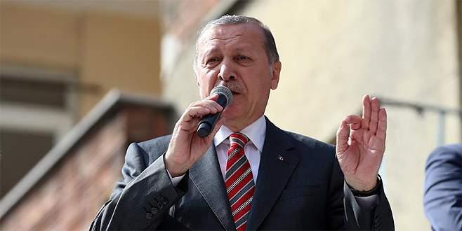 Erdoğan: Eleştirilerin çoğunluğu kendi iç siyasetleriyle ilgili