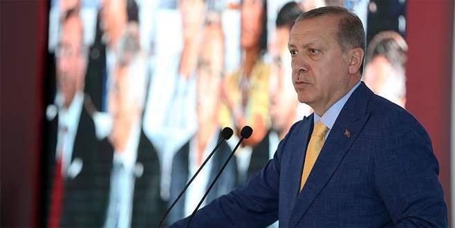Erdoğan: Meydanı bu çapulculara bırakıp kaçmak yakışmaz değil mi?