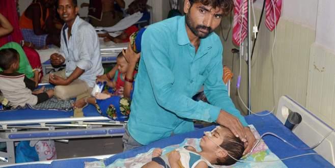 Üç günde 60  çocuk öldü