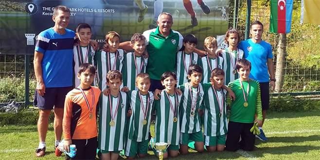 U12 Takımı şampiyon oldu