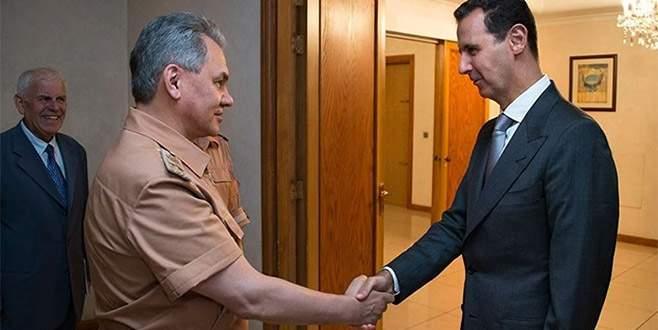 Şoygu ve Esad, Suriye'yi görüştü