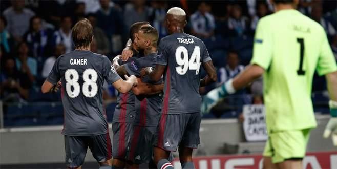 Beşiktaş deplasmanda Porto'yu mağlup etti