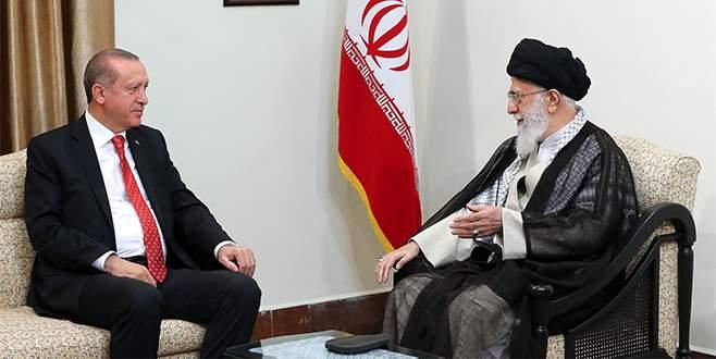 Erdoğan, Hamaney ile görüştü