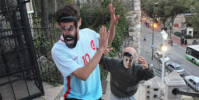 Bursa'da ilginç Arda Turan  protestosu