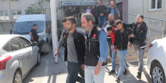 Bursa merkezli eş zamanlı uyuşturucu operasyonu