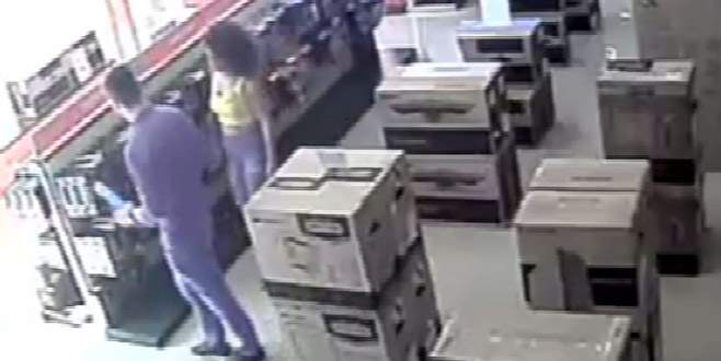 Hırsızlıktan yakalanan sevgililer: Macera olsun diye yaptık