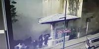 İşte Bursa Ulucami'deki patlama anı!