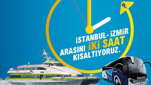 BUDO İstanbul-İzmir arasını 2 saat kısalttı