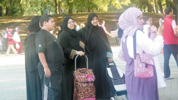 Turizmcinin yüzünü Araplar güldürdü