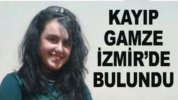 Bursalı kayıp Gamze İzmir'de bulundu
