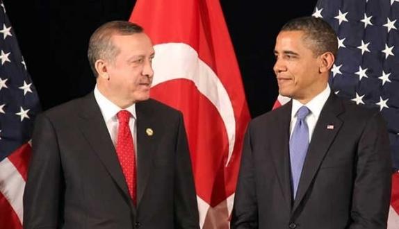 Erdoğan Obama ile Suriye`yi görüştü