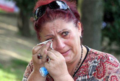 Gürcü kadının göz yaşları