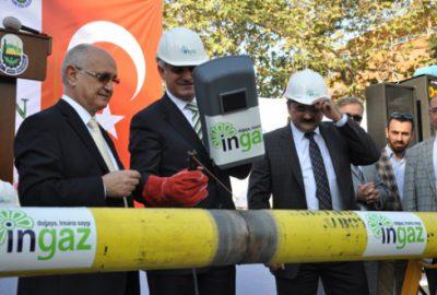 Yenice`de doğalgaz çalışmaları başladı