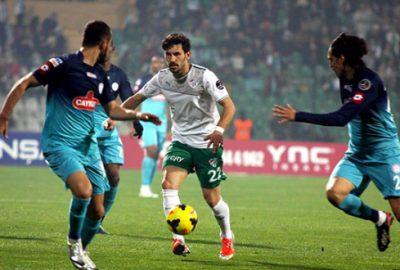 Bursaspor'un Rize'de deplasman fobisi