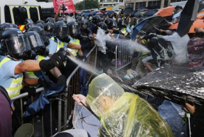 Hong Kong`da sivil itaatsizlik