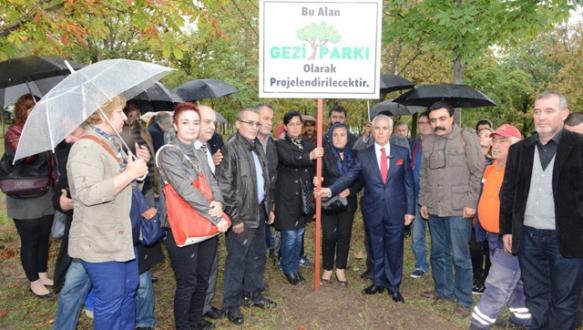 Gezi Parkı Nilüfer`de yaşatılacak