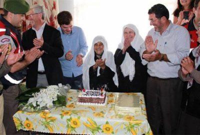 100 yaşına giren Selime nineye sürpriz