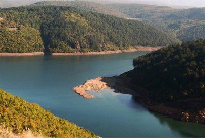 Bursa`da son yağışlarla gelen su bereketi