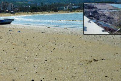 Esence sahilleri artık tertemiz
