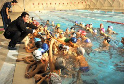 Bursa'da 4 mevsim yüzme keyfi