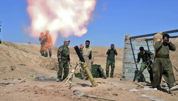 PYD`ye askeri destek