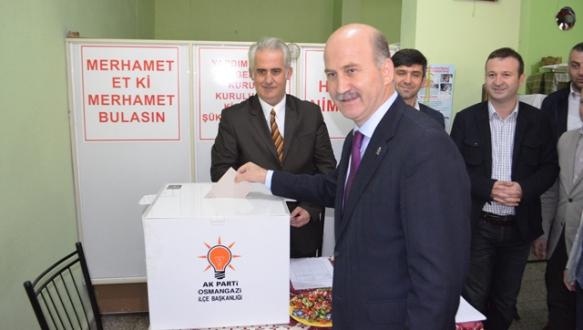 AK Parti`de delege seçimleri tamam