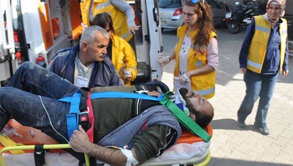 İnegöl'deki kazalarda 5 yaralı