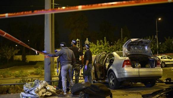 Kudüs`te Filistinli şoför dehşeti
