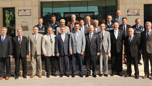 Zabıta müdürleri Mustafakemalpaşa'da buluştu