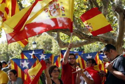 Katalanlara şok
