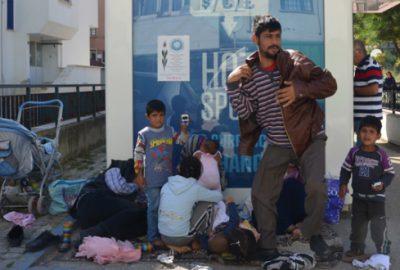 Savaştan kaçtılar yardım bekliyorlar