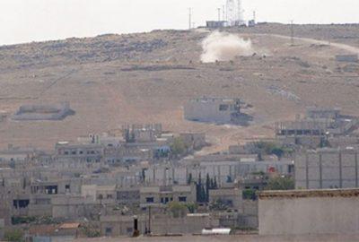 IŞİD Kobani'yi üç yönden kuşattı