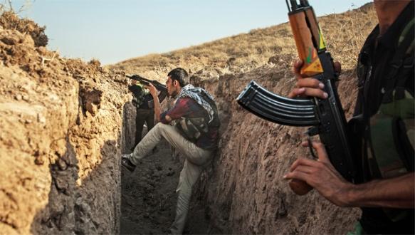 Kobani'de sokak savaşı hazırlıkları