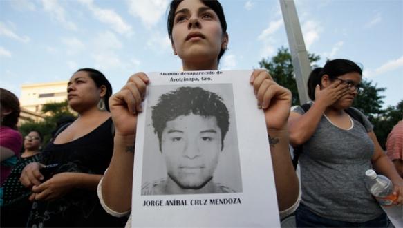 Meksika'da 'kayıp' öfkesi