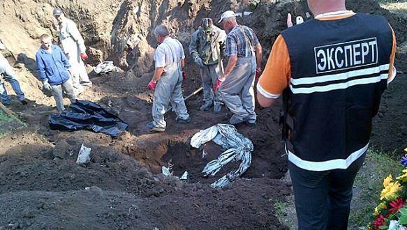 Donetsk`te kan donduran vahşet