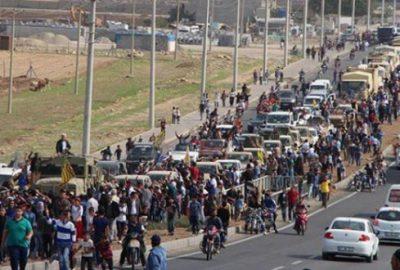 İkinci peşmerge konvoyu Kobani`ye gitti