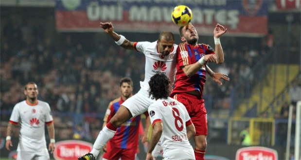 Galatasaray deplasmanda galip