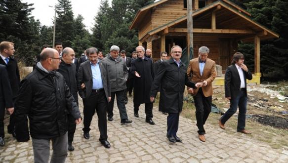 Büyükşehir belediye başkanlarından Bursa`ya övgü