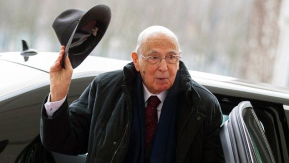 Napolitano görevi bırakıyor