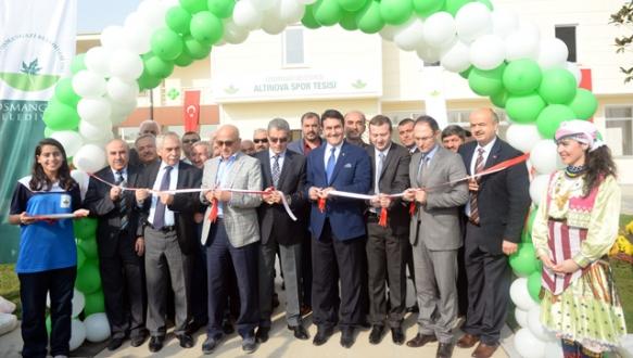Osmangazi spor tesisleriyle donatılıyor