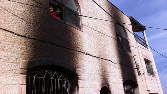 Yahudi yerleşimciler Batı Şeria`da cami yaktı