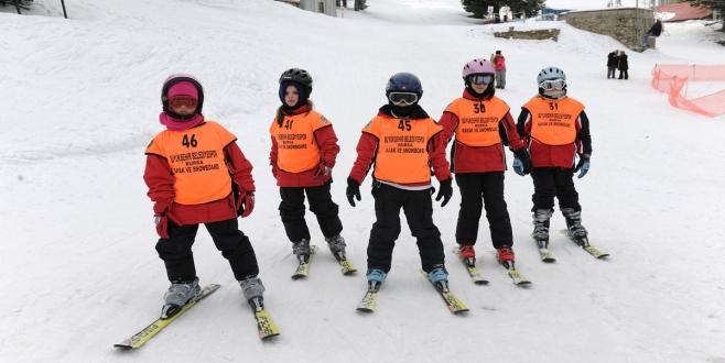Kayakçılar kış sezonunu heyecanla bekliyor