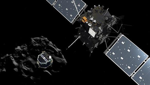 `Philae` kuyruklu yıldıza indi