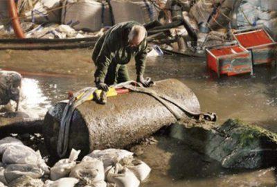 Bomba imhası için 17 bin kişiye tahliye